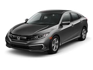 New 2019 Honda Civic LX Sedan Burlington MA