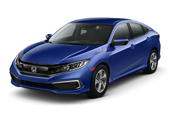 New 2019 Honda Civic LX Sedan for sale in Stockton, CA at Stockton Honda