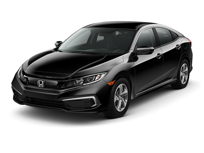 New 2019 Honda Civic Sedan LX Near Seattle