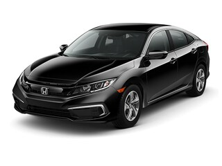 New 2019 Honda Civic LX Sedan 00190283 near Harlingen, TX
