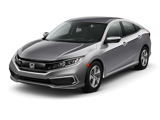 New 2019 Honda Civic LX Sedan 00190213 near Harlingen, TX