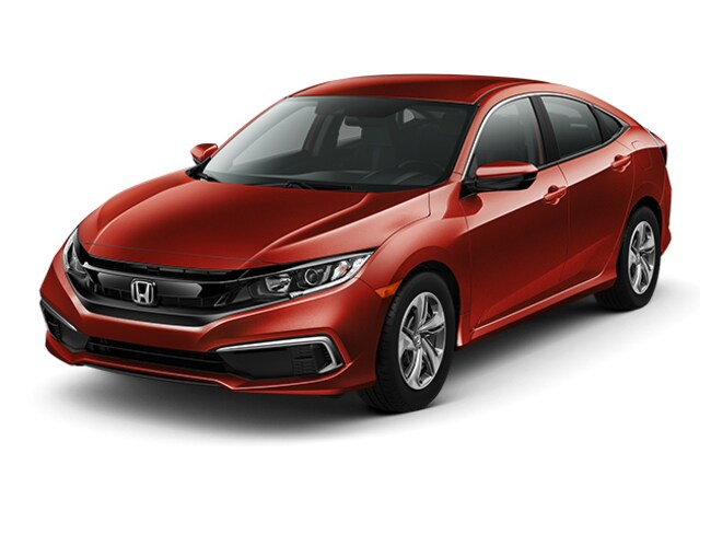 New 2019 Honda Civic LX Sedan Near Bridgeport