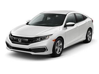 New 2019 Honda Civic LX Sedan 00190310 near Harlingen, TX
