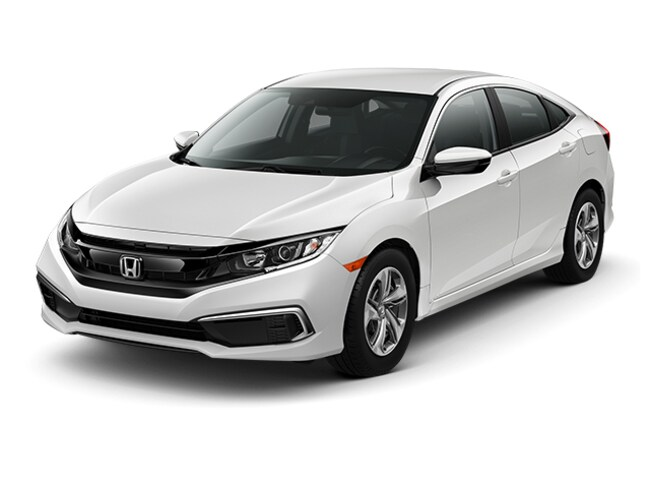 New 2019 Honda Civic LX Sedan in Wichita Falls, TX