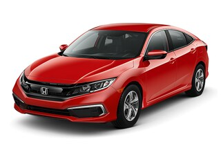 New 2019 Honda Civic LX Sedan 2HGFC2F62KH524520 for sale in Latham, NY at Keeler Honda