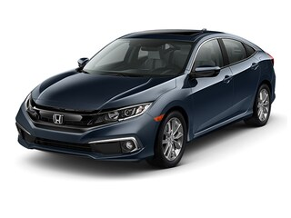New 2019 Honda Civic EX Sedan 19XFC1F31KE005758 in Port Huron, MI