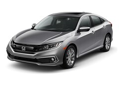 New 2019 Honda Civic EX Sedan Ames, IA