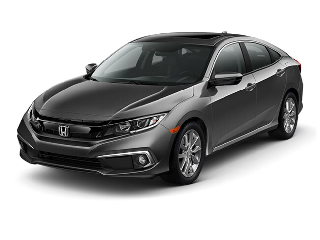 New 2019 Honda Civic EX Sedan JHMFC1F34KX003226 for sale near Indianapolis IN