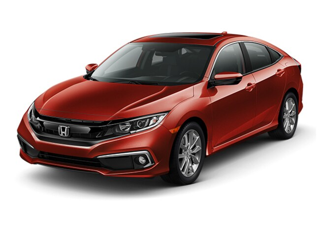 New 2019 Honda Civic EX Sedan Hopkins