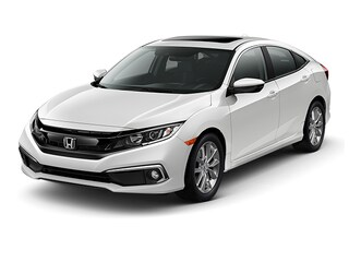New 2019 Honda Civic EX Sedan Gardena, CA