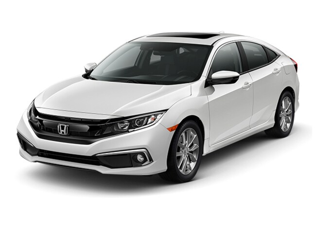 New Honda vehicle 2019 Honda Civic EX Sedan for sale near you in Pompton Plains, NJ