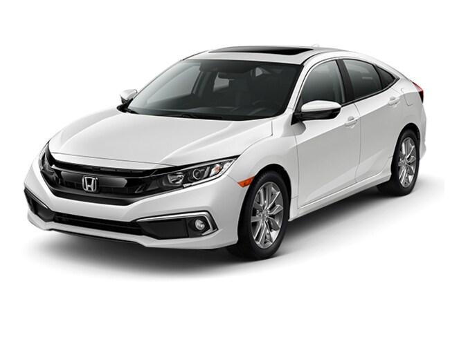 New 2019 Honda Civic EX Sedan Hopkins