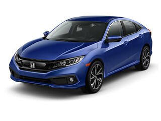 New 2019 Honda Civic Sport Sedan 00H90242 near San Antonio