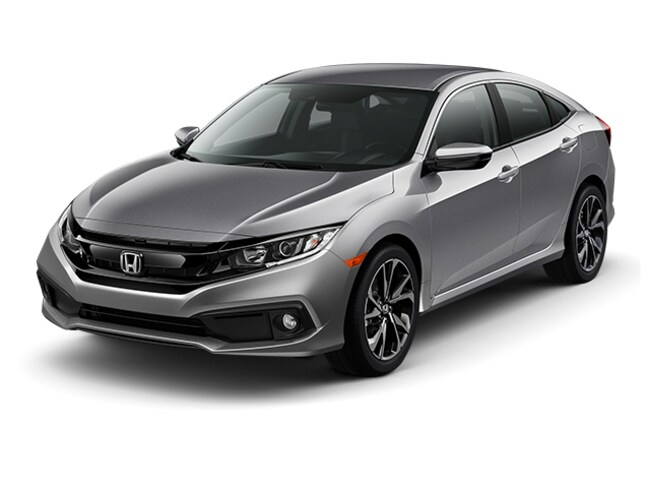 New 2019 Honda Civic Sport Sport CVT For Sale in Merrillville, IN