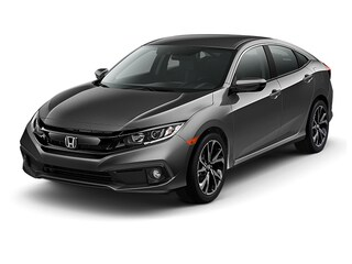 New 2019 Honda Civic Sport Sedan 2HGFC2F89KH564854 in Port Huron, MI
