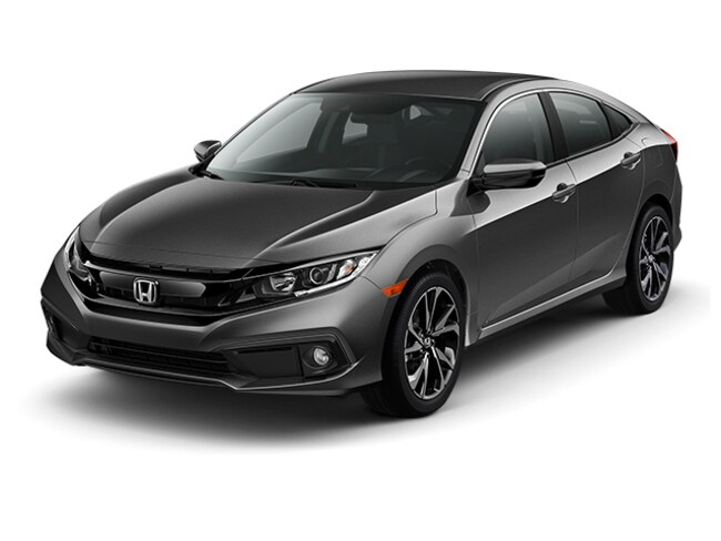 New 2019 Honda Civic Sport Sedan in Bakersfield, CA