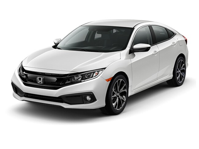 New 2019 Honda Civic Sport Sedan for sale in Houston
