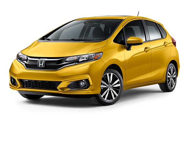New 2019 Honda Fit EX Hatchback Helios Yellow Pearl For Sale
