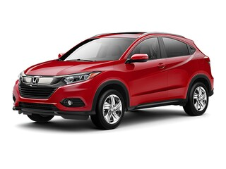 New 2019 Honda HR-V EX SUV KM714538 for sale near Fort Worth TX