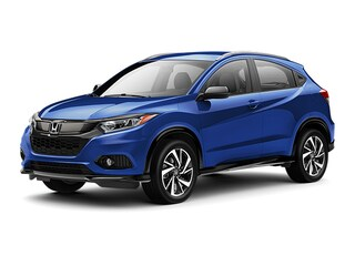 New 2019 Honda HR-V Sport 2WD SUV 00H90172 near San Antonio