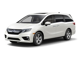 New 2019 Honda Odyssey EX-L w/Navigation & RES Van 5FNRL6H72KB072597 in Port Huron, MI