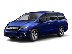New 2019 Honda Odyssey EX Van 5FNRL6H51KB007674 for Sale in Clinton Township at Jim Riehl's Friendly Honda