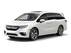 New 2019 Honda Odyssey Elite Van 5FNRL6H96KB044819 for sale in Terre Haute at Thompson's Honda