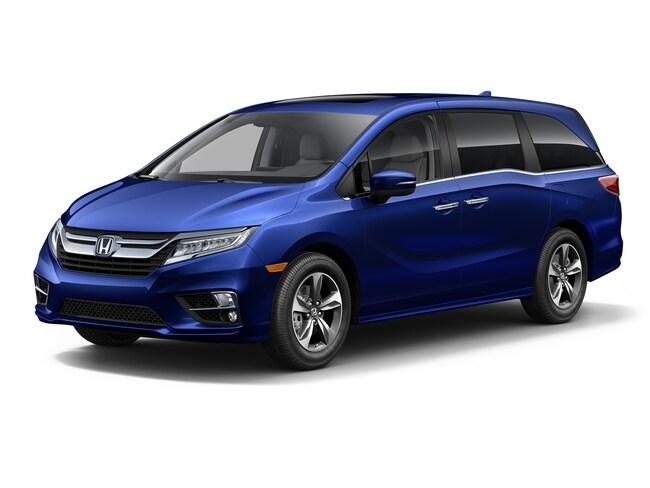 2019 Honda Odyssey Touring Van for sale in Logan, Utah at Young Honda