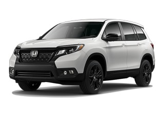 2019 Honda Passport SUV White Diamond Pearl