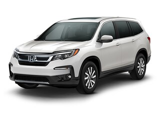 New 2019 Honda Pilot EX-L w/Navi & RES AWD SUV K024540 for Sale in Morrow at Willett Honda South