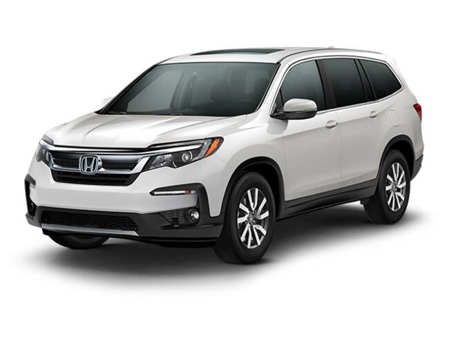 New 2019 Honda Pilot EX-L w/Navi & RES AWD SUV 6 speed automatic in Augusta
