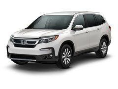 New 2019 Honda Pilot EX FWD SUV 19285 for Sale in Springfield, IL, at Honda of Illinois