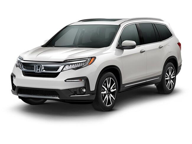 New 2019 Honda Pilot Touring 8-Passenger FWD SUV in Bakersfield, CA