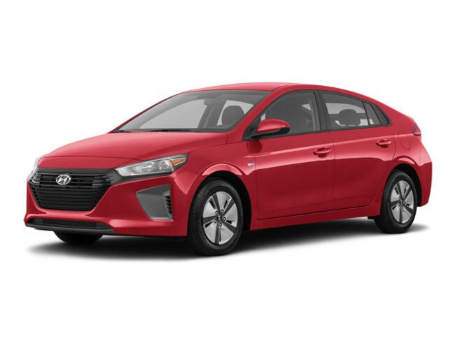 New 2019 Hyundai Ioniq Hybrid Blue Hatchback in Garden Grove