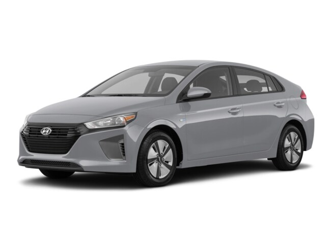 New 2019 Hyundai Ioniq Hybrid Hybrid Blue Hatchback in St. Louis, MO