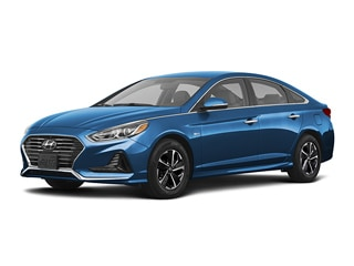 2019 Hyundai Sonata Plug-In Hybrid Sedan Skyline Blue