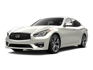 2019 INFINITI Q70 Sedan Majestic White