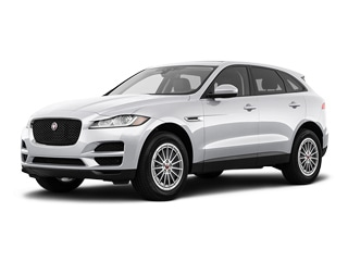 2019 Jaguar F-PACE SUV Yulong White Metallic