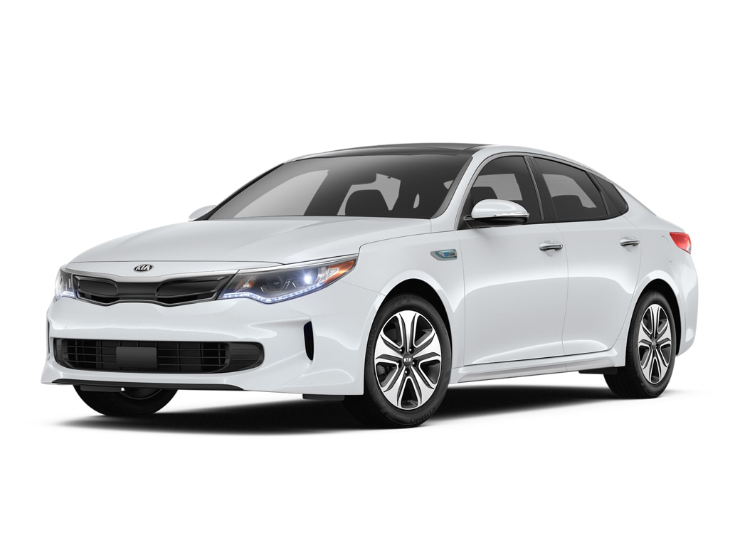 2019 Kia Optima Hybrid Sedan Snow White Pearl