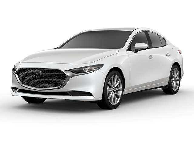 Featured new Mazda vehicles 2019 Mazda Mazda3 Sedan w/Premium Pkg Car for sale near you in Ann Arbor, MI