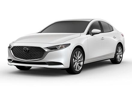 Featured new Mazda vehicles 2019 Mazda Mazda3 Sedan w/Premium Pkg Car for sale near you in Ann Arbor, MI