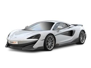 2019 McLaren 600LT Coupe White