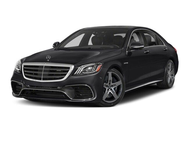 New 2019 Mercedes-Benz AMG S 63 4MATIC Sedan Bentonville, AR