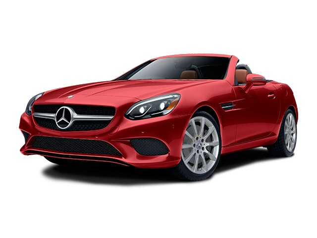 New 2019 Mercedes Benz Slc 300 Roadster Designo Cardinal Red