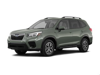 New 2019 Subaru Forester Premium SUV JF2SKAGCXKH446140 for sale in Brockport, NY at Spurr Subaru