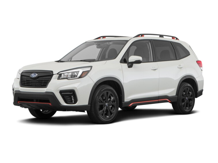 New 2019 Subaru Forester Sport SUV JF2SKAPC2KH455785 for sale in Sioux Falls, SD at Schulte Subaru