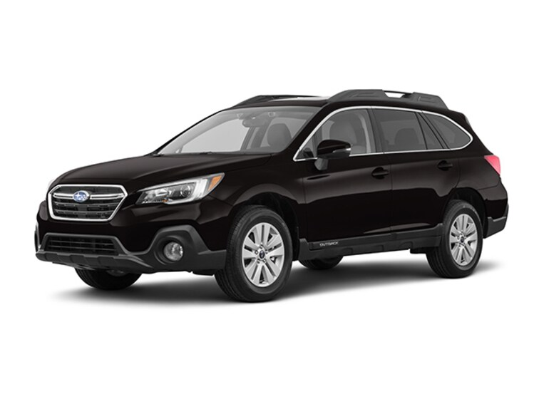 New 2019 Subaru Outback 2.5i Premium SUV Crystal Black Silica in Pittsfield