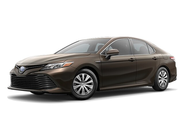 New 2019 Toyota Camry Hybrid Le Sedan Brownstone For Sale In New