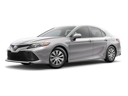 New 2019 Toyota Camry Hybrid LE Sedan Celestial Silver For