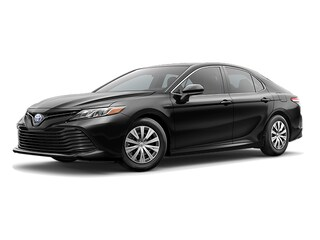 New 2019 Toyota Camry Hybrid LE w/ Blind Spot Sedan in Portsmouth, NH